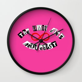 """The Limit Does Not Exist - """"Mean Girls"""" Burn Book Inspired Wall Clock"""
