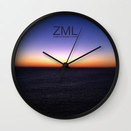 Unfathomable III Wall Clock
