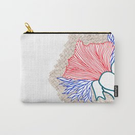 Fly Flower Carry-All Pouch