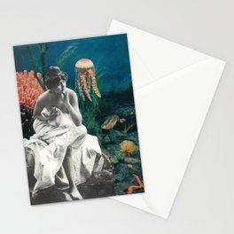 Underwater Contemplation Stationery Cards