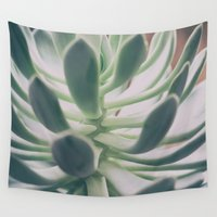 plant Wall Tapestries featuring Plant by pf_photography