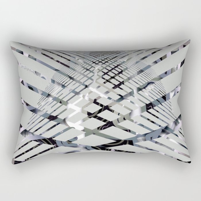 Geoabstract by Leslie Harlow Rectangular Pillow