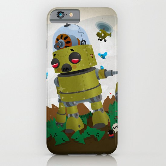 Monster robot toy iPhone & iPod Case