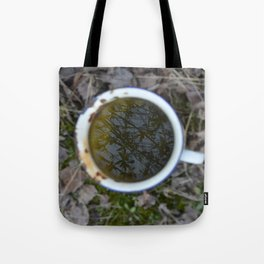 Tree in a cup Tote Bag