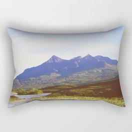 The Cuillin Hills Rectangular Pillow