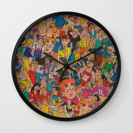 Archie Comics Collage Wall Clock