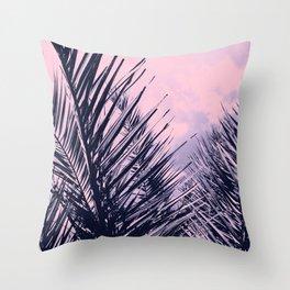 Summer Palms - Cali Vibes #2 #tropical #decor #art #society6 Throw Pillow