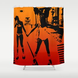 The Girls of Summer Shower Curtain