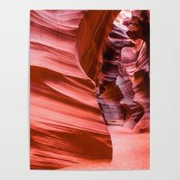 Deep Inside - Antelope Canyon in Desert Southwest Poster