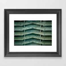 Building on construction Framed Art Print