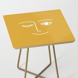 wink / mustard Side Table