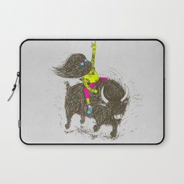 Ride a buffalo Laptop Sleeve