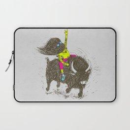 Ride a buffalo Laptop Sleeve