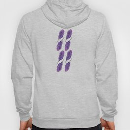 Twin Feathers pattern Hoody
