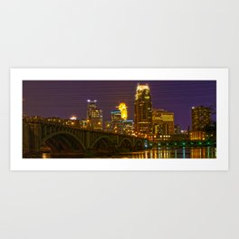 Stone Arch Bridge - Minneapolis MN Art Print