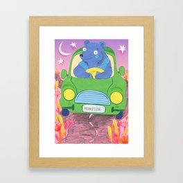 Ride Home Framed Art Print