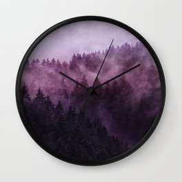 Excuse me, I'm lost // Laid Back Edit Wall Clock