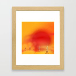 Jakku Framed Art Print