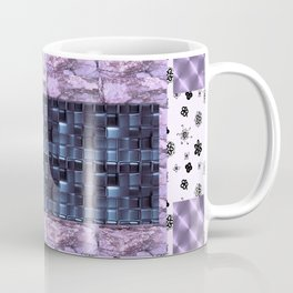 Texture for Interior Decoration Purple . Artwork Coffee Mug