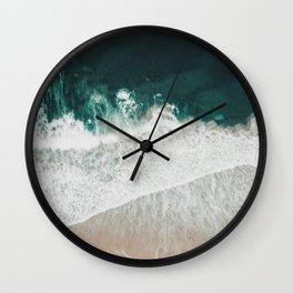 Lost waves Wall Clock