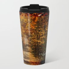 Autumn light Metal Travel Mug