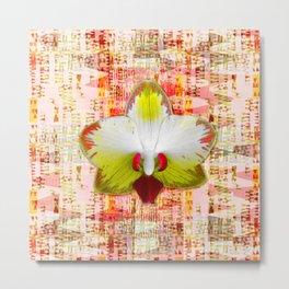 Bright orchid in intermeZZo Metal Print