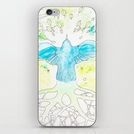 Vuelo   Granatovych Artwork   Oils on Water and Watercolors iPhone Skin