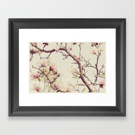 Blossoms and Branches Framed Art Print