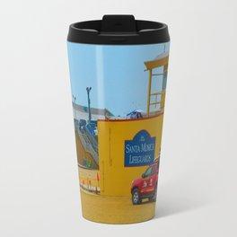 Santa Monica Lifeguards Travel Mug