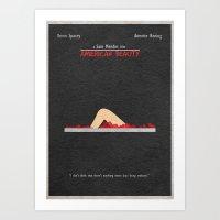 american beauty Art Prints featuring American Beauty by Ayse Deniz