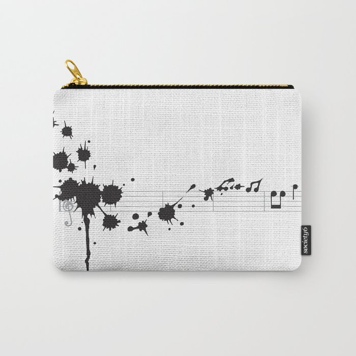 Splatter in D Minor Carry-All Pouch