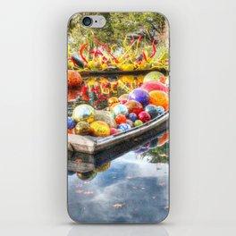 Floating Glass iPhone Skin