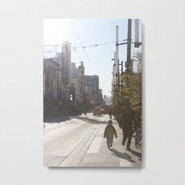 Granville Street Metal Print