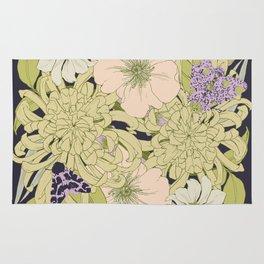 Chrysanthemum 2 Rug