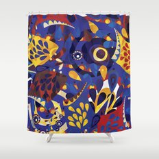 We are all birds Shower Curtain