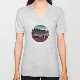 To Run With the Fireflies Unisex V-Neck