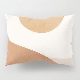 Minimal Abstract Art Landscape 9 Pillow Sham
