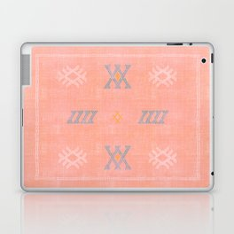 Morocco Kilim in Peach Laptop & iPad Skin