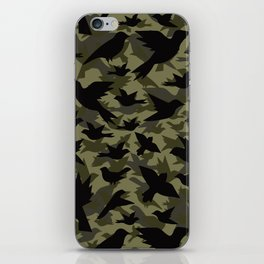 Bird Camouflage 4 iPhone Skin