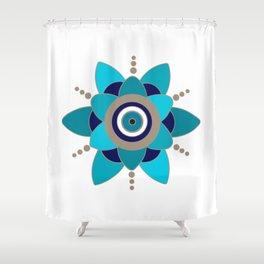 Evil Eye 2 Shower Curtain