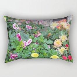 Flowers in St. Andrews Rectangular Pillow