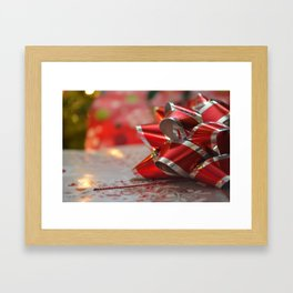 Holiday Giving  Framed Art Print