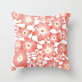 Field project Throw Pillow