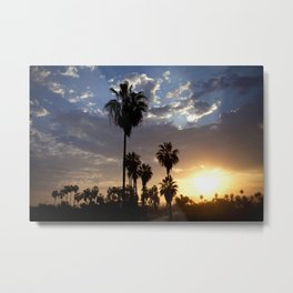 Surise in Baja California Metal Print