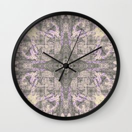 ONCE UPON A TIME EUCALYPTUS MANDALA Wall Clock