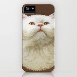 Round Cat - Yom iPhone Case
