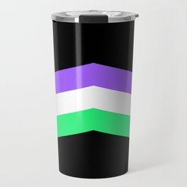 Genderqueer Travel Mug