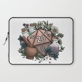 Alchemist D20 Tabletop RPG Gaming Dice Laptop Sleeve