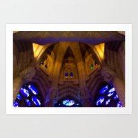 Sagrada Familia #13 Art Print