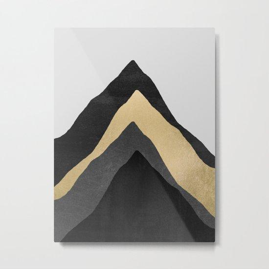 Four Mountains Metal Print
